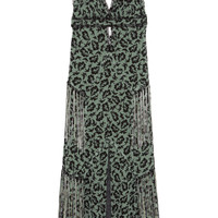 Anna Sui - Printed silk-chiffon maxi dress