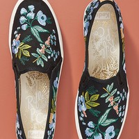Keds Embroidered Triple Decker Sneakers