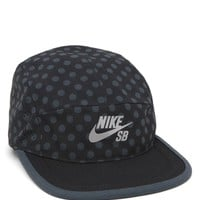 Nike SB Perforated Reflective Polka Dot 5 Panel Hat - Mens Backpack - Black/Silver - One