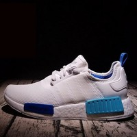 Adidas NMD Trending Fashion Casual Sports Shoes White-5