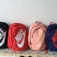 """""""Nike"""" Unisex Simple Casual Large Capacity Movement Travel Sports Double Shoulder Bag Backpack"""