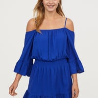 Open-shoulder Dress - from H&M