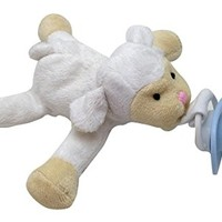 CuddlesMe Plush Sheep Toy with Detachable Pacifier, FDA Listed Medical Device