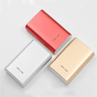 2016 Power Bank 10000mAh External Battery Backup Portable Charger Mobile Powerbank for Xiaomi mi5 samsung s5 s6