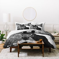 Allyson Johnson Horse Portrait Duvet Cover