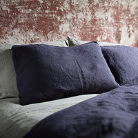 Stone Washed Cobalt Bed Linen Pillow Case