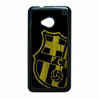 Barcelona FC Wood HTC One M7 Case