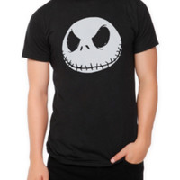The Nightmare Before Christmas Jack Face T-Shirt