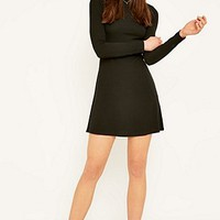 BDG Solid Turtleneck Dress - Urban Outfitters