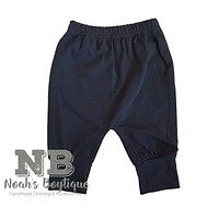 Noah's Boytique Baby Boy Black Pants
