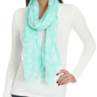 Falling Hearts Scarf   Shop Accessories at Wet Seal