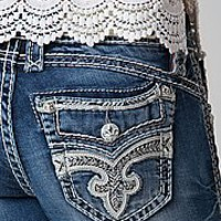 Rock Revival Yeon Mid-Rise Skinny Stretch Jean