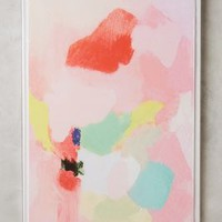 Studied Blush Wall Art by Anthropologie in Medium Pink Size: One Size Decor