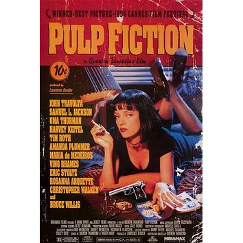 Pulp Fiction Quentin Tarantino Movie Poster 24x36
