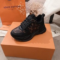 LV Louis Vuitton Man Fashion Casual Shoes Men Fashion Boots fashionable Casual leather Breathable Sneakers Running Shoes Sneakers