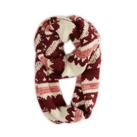 AEO Chunky Fair Isle Loop Scarf | American Eagle Outfitters