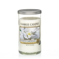 White Gardenia : Medium Perfect Pillar Candles : Yankee Candle