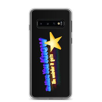 The more You Know the Weirder It Gets Samsung Case