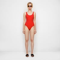 The Anne-Marie One-Piece - Cherry