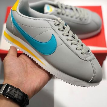 Nike Classic Cortez Leather cheap Men's and women's nike shoes
