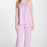 Women's Midnight by Carole Hochman 'In The Cool Evening' Jersey Pajamas