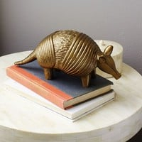 Etched Armadillo