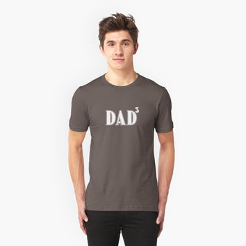 'Fathers Day Gift Husband Gift DAD 3' T-Shirt by homebabyrose