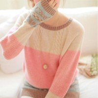 Fanewant — Fresh Color Nice Sweater