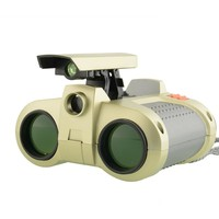 4x30 Toys Night Scope Telescope Binoculars with Pop-up Spotlight and Night-beam Vision Fun Cool Toy Gift for Children