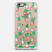 Cute watercolor cactus pattern iPhone 6 case by Girly Trend | Casetify