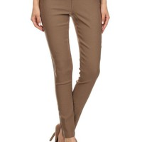 Career High Rise Waisted Slim Fit Stretch Skinny Pants