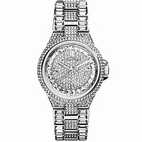 Michael Kors Silver Mini Glam Camille Watch