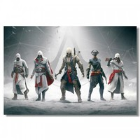 Assassin's Creed Protagonists - Silk Poster