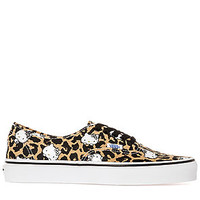 The Vans x Hello Kitty Authentic Sneaker in Leopard Kitty