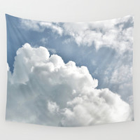 Cumulus Sky Wall Tapestry by RichCaspian