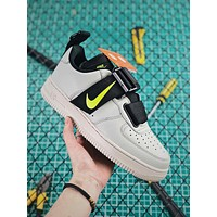 Nike Air Force 1 Low Utility Spruce Frog Black Volt Sport Shoes