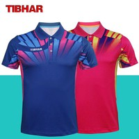 New Tibhar Table Tennis Jersey For Men Women Ping Pong Cloth Sportswear Training Short Sleeve T-shirts Breathable