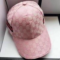 PINK Gucci Fashion Casual Hat Cap