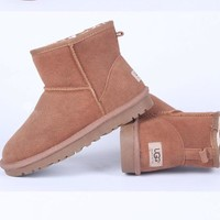 UGG Women male Fashion Wool Snow Boots-124