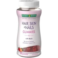 Nature's Bounty Optimal Solutions Hair, Skin and Nails Gummies, 80 ea (Pack of 2) - Walmart.com