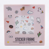 Sticker Photo Frame - Urban Outfitters