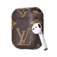 LV Louis Vuitton Vintage Airpod Case