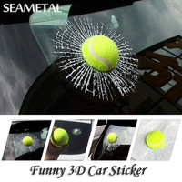 Funny 3D Car Stickers And Decals Full Body Window For Cars Auto Accessories Design Cartoon Car Sticker 3D Wall Film Car-Styling