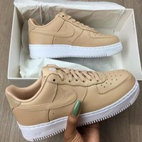 Nike Air Force 1 Low AF1 Fashion Ventilation Sport Running Sneakers Sport Shoes