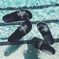 Givenchy new slippers trendy casual wear beach sandals and slippers for men and women couples