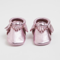 Frosted Rose - Limited Edition Moccasins