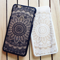 Vintage Lace Floral iPhone 5 5s iPhone 6 6s Plus Case Cover iPhone 7 7 Plus Case Cover + Free Shipping + Free Gift Box