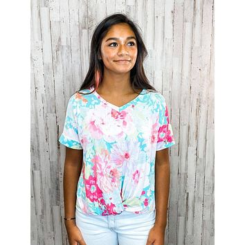 Charmed Life Floral Top