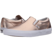 Vans Classic Slip On(Mttlc Leather)Rose Gold