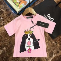2018 Childrens Cheap  DG T Shirt hot sale ※043